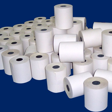 Papel Térmico, Autocopiante, Bond, Rollos Hand Held Printers, Rollos para Cajeros Automáticos, Rollos para terminales punto de venta, etc.